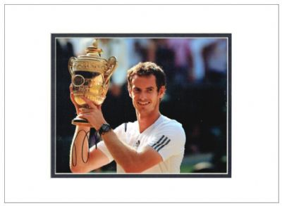 Andy Murray Autograph For Sale Signed Photo Tennis